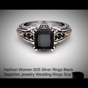 925 Sterling Silver fashion ring! Gorgeous!!